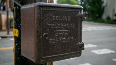 old police telephone box
