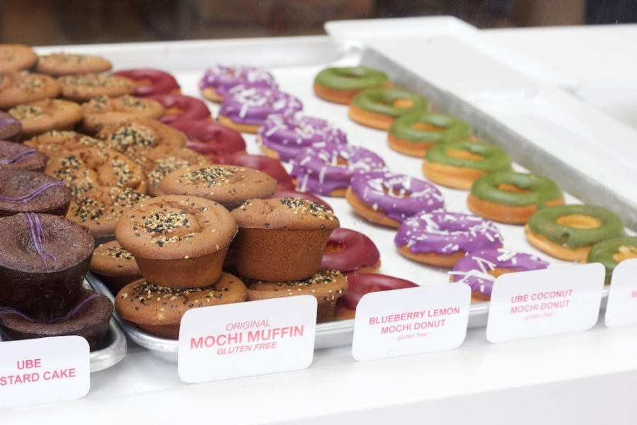 Mochi muffins and mochi donuts at Third Culture Bakery's showroom at The Berkeley Kitchens