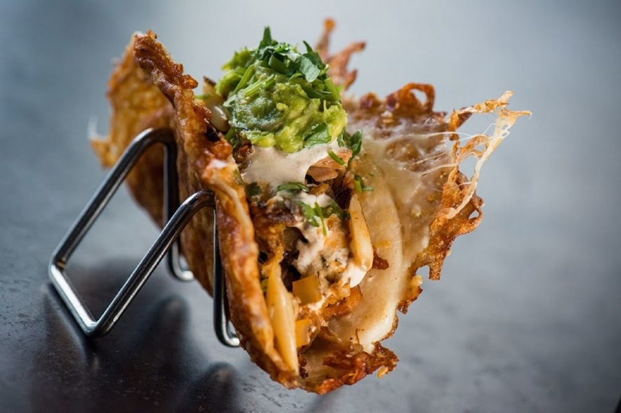 The Vampire Taco at Yard House in Concord.