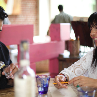 Alfonso and Gloria Dominguez, the son and mother co-owners at Tamarindo Antojeria Mexicana in Oakland. Photo: Tamarindo