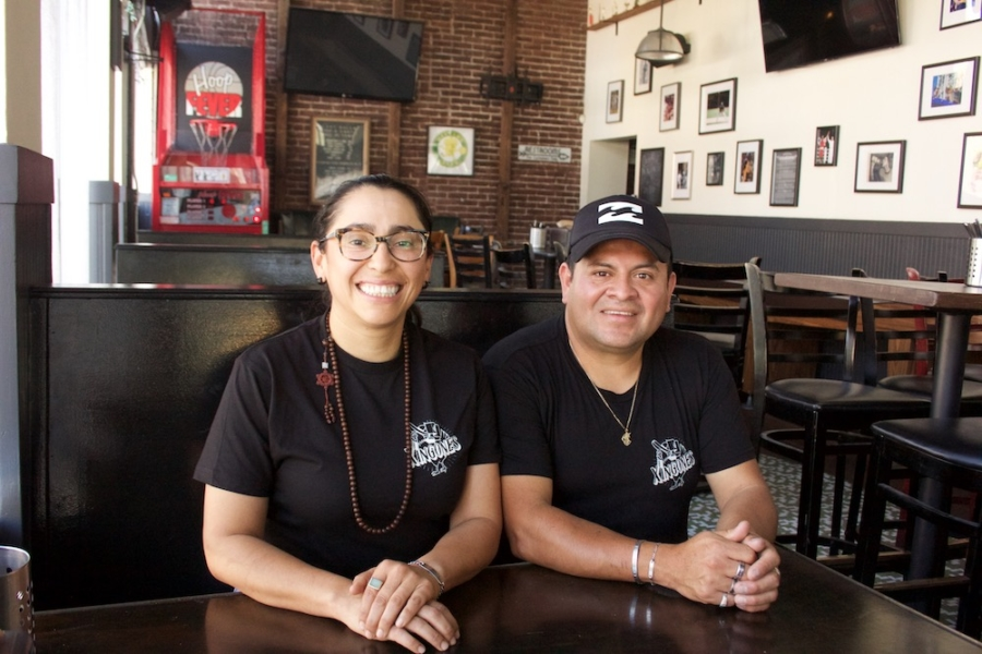 """Mayra Velazquez and Justino """"Tino"""" Perez are the chefs behind Xingones."""