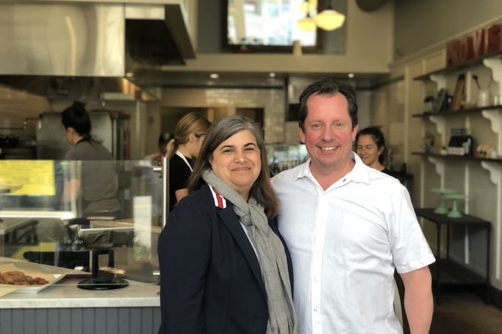Paul Arenstam and Charlene Reis, owners of Summer Kitchen. Photo: Tracey Taylor