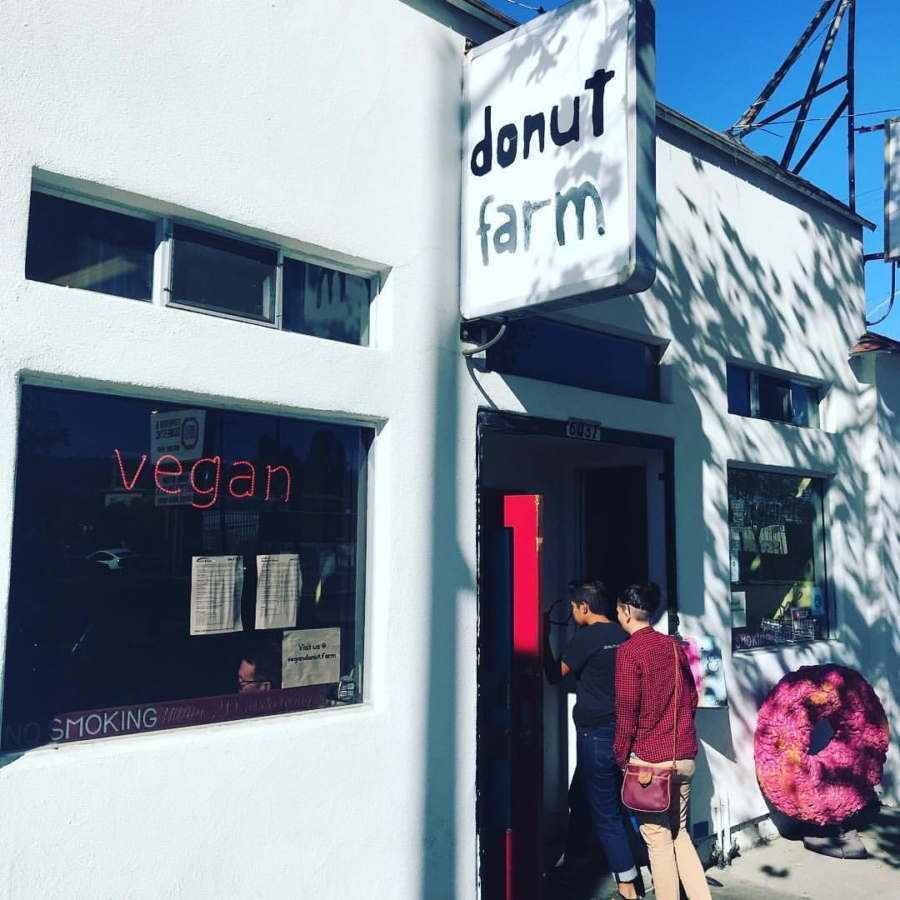 Donut Farm on San Pablo Avenue.