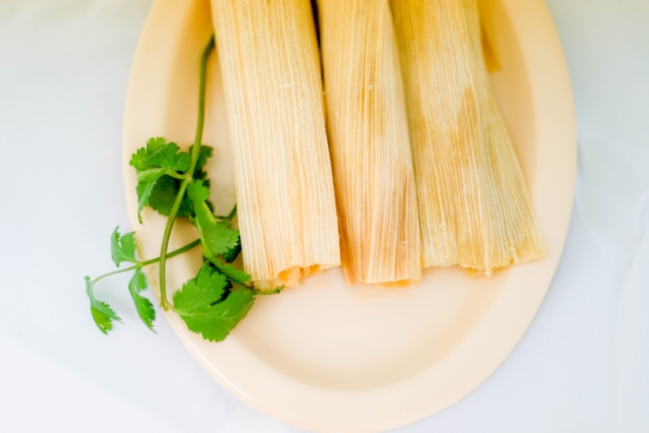 Stock image of tamales by Tai's Captures on Unsplash