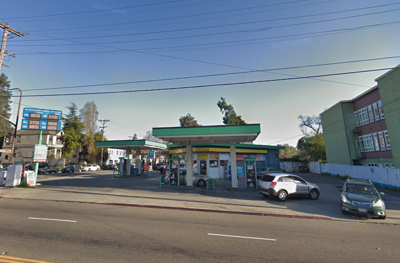 After getting shot by clerk, man charged with armed gas