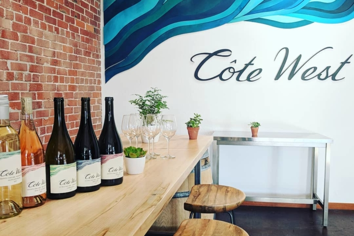 Côte West, an urban winery located near Jack London Square. Photo: Côte West