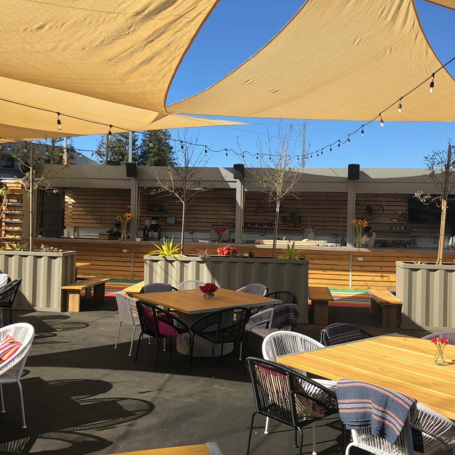 Nido's Backyard in Oakland offers spacious outdoor dining and a cocktail lounge with an agave-focused drink menu.
