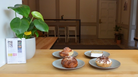 Pastries at Tartine Bakery in Berkeley.