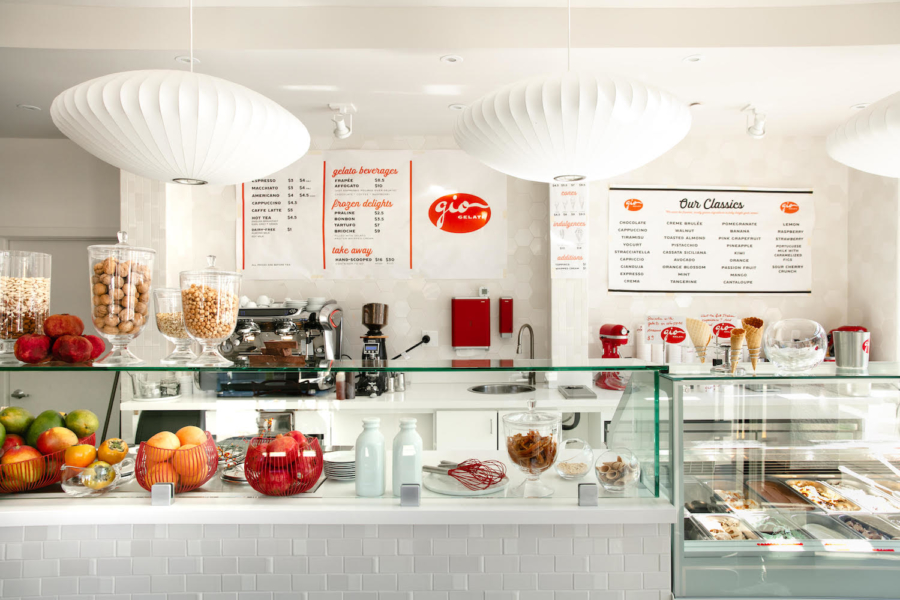 Guido Mastrapaolo and Patrizia Pasqualetti's second Bay Area GIO Gelati gelateria opened this month at San Ramon's City Center Bishop Ranch.