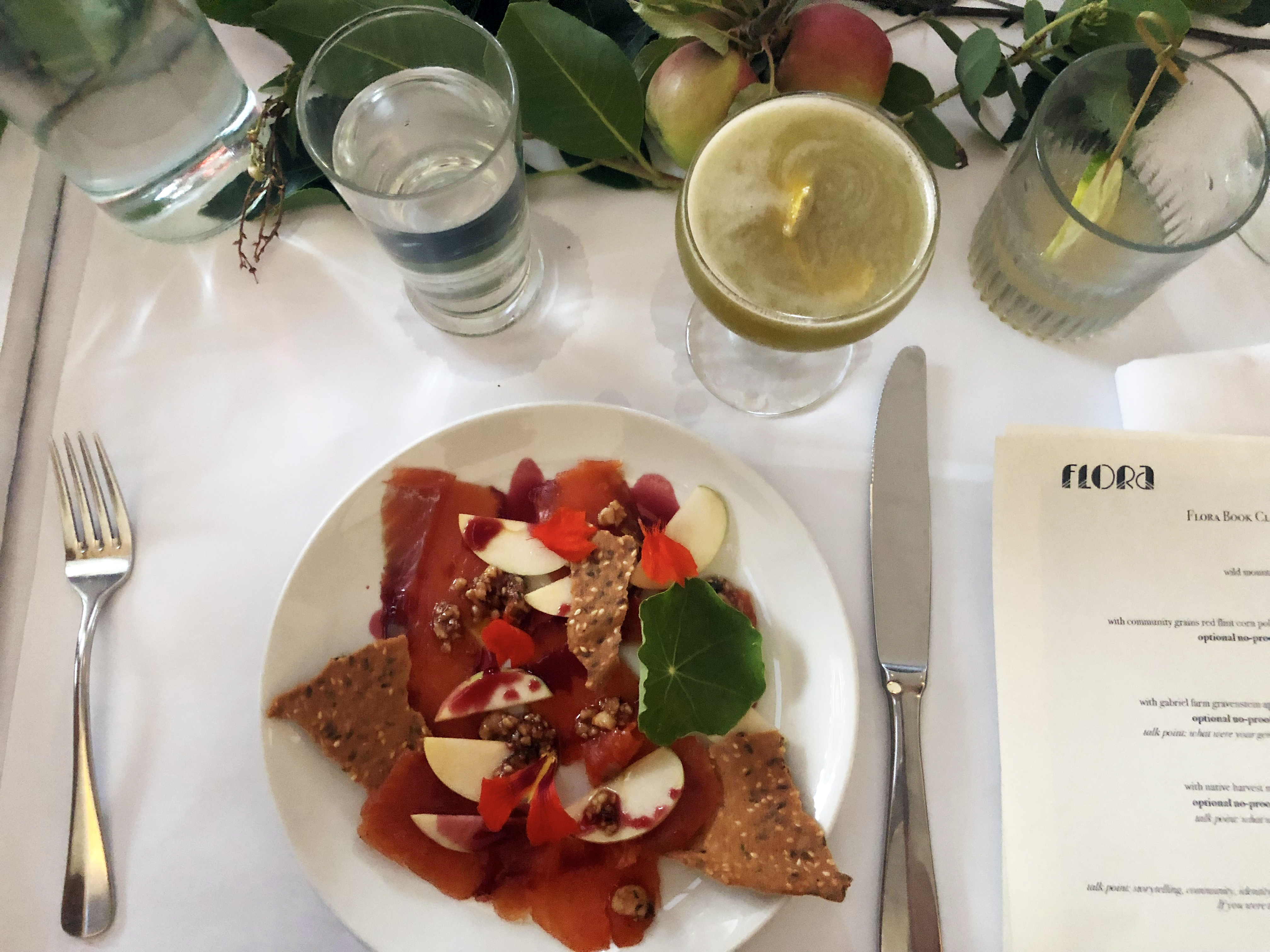 Flora's book club dinners inspire lively conversations over