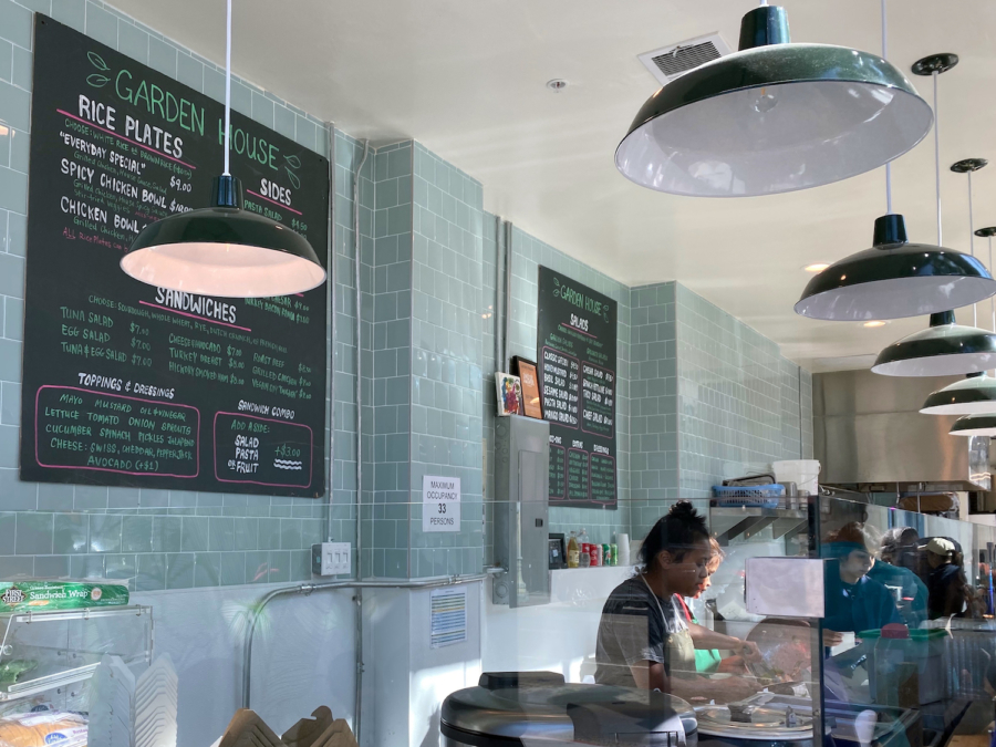 Garden House has reopened in Downtown Oakland, with its menu of salads, sandwiches, rice plates and other lunch fare.