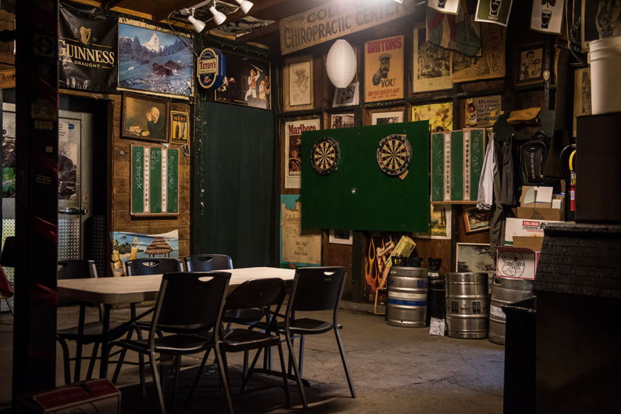 A darts tournament takes place every third Tuesday at McNally's Irish Pub in Oakland.