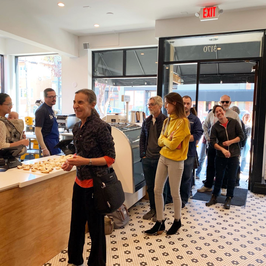 Boichik Bagels had a test run on Oct. 31, to the excitement of the bagel lovers in the neighborhood.