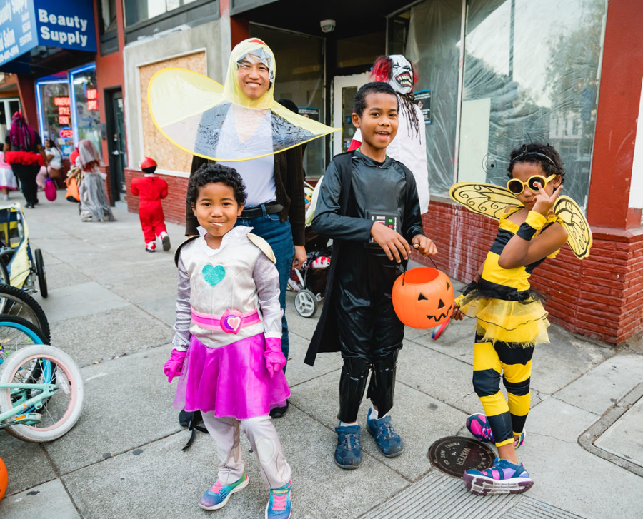 Temescal Trick or Treat offers trick-or-treating opportunities on Telegraph Avenue, between 40th and 51st streets.