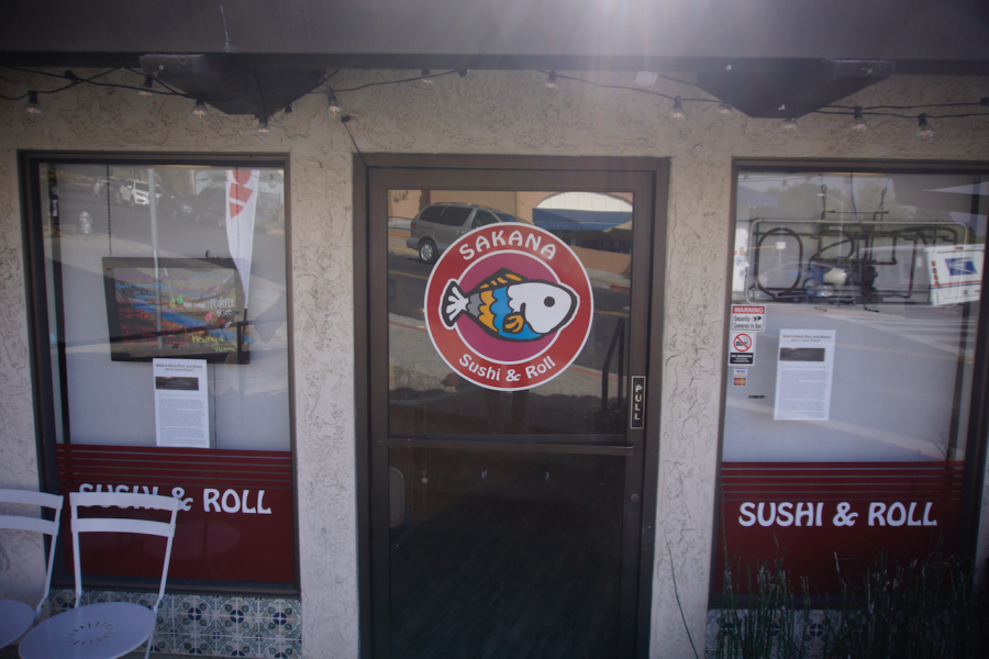 Sakana Sushi & Roll took over the space last occupied by Nomad Café in Kensington.