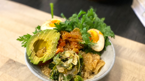 On weekends, Cultured Pickle Shop hosts Rice & Pickles, a three-course set menu featuring various preserved and fermented vegetables.