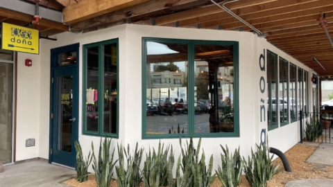 Doña on Piedmont Avenue is open for business.