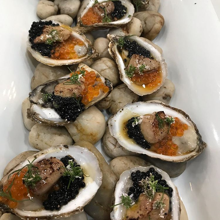 Oyster Suprême will be on the of the amuse offerings on Perle Wine Bar's New Year's Eve menu.