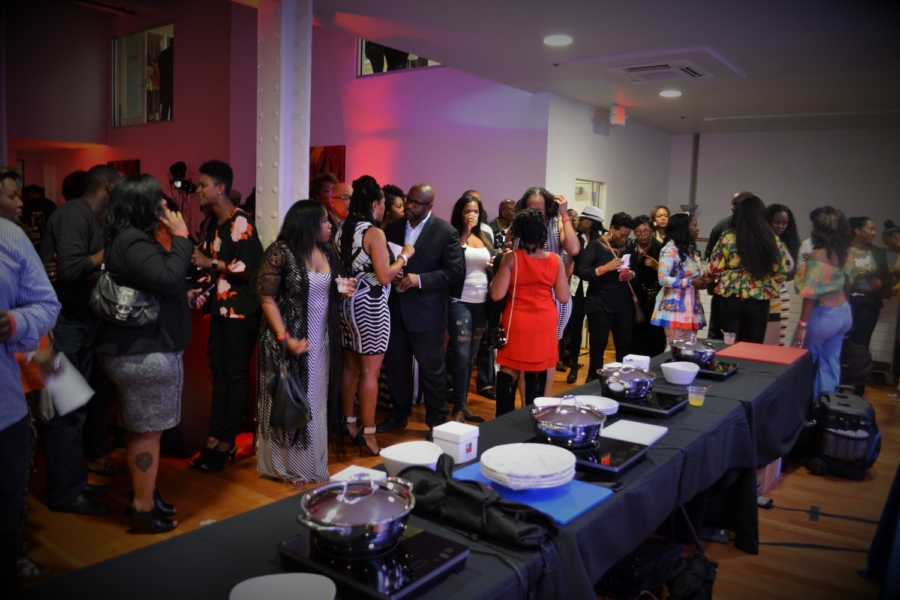 A past Black Food and Wine Experience event.