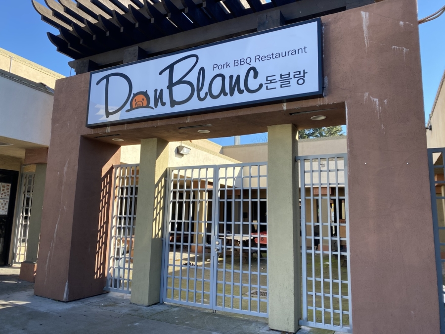 Don Blanc, a Korean BBQ restaurant specializing in pork, will open at Koryo Plaza in Temescal.