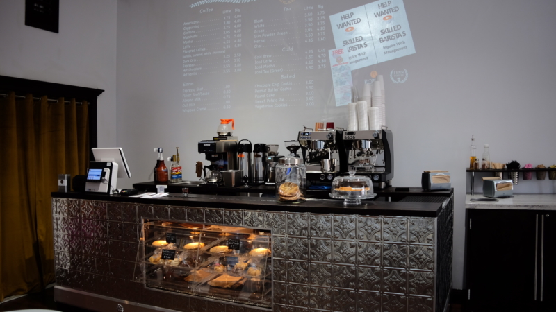 Dork's Tec Café offers IT services, along with coffee and pastries from Pâtisserie Rotha.