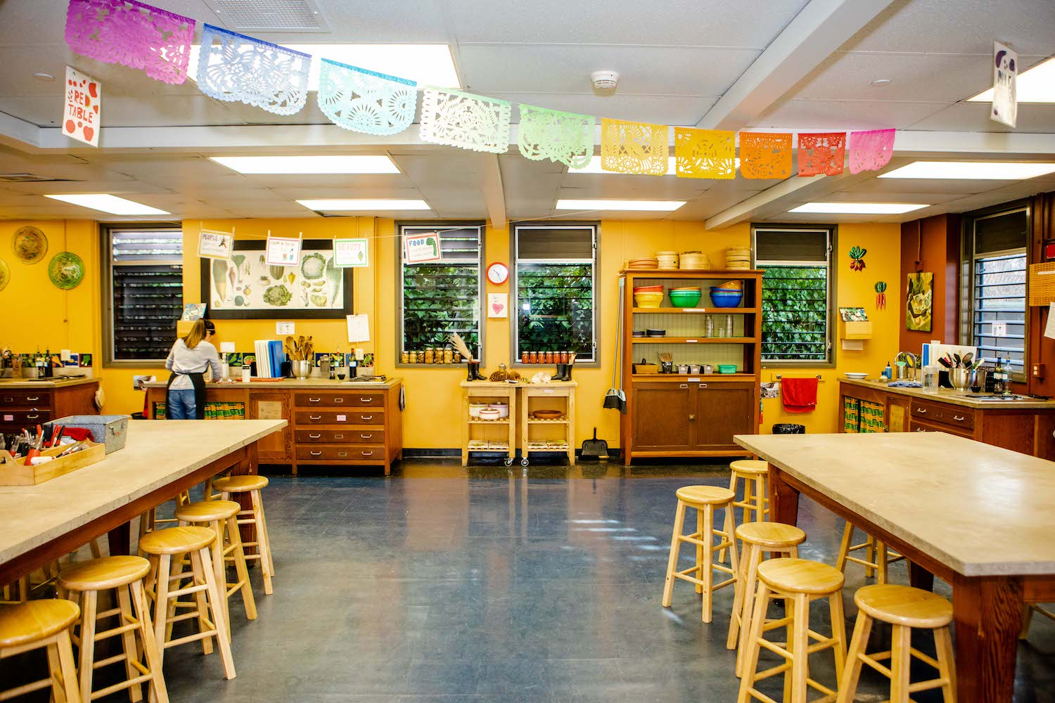 The ESY kitchen classroom at King Middle School.