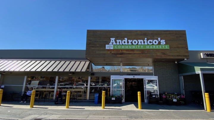 The Andronico's name has returned to the Community Market at 1550 Shattuck Ave. in Berkeley.