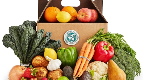 Berkeley Bowl West is now offering produce boxes for home delivery via Doordash.