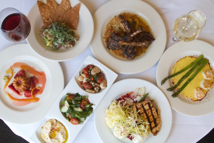 Lalime's offered a menu of seasonal, sustainable and organic fare, and had planned to pivot its focus to a vegetable-forward Mediterranean menu just before it closed. Photo: Lalime's Restaurant