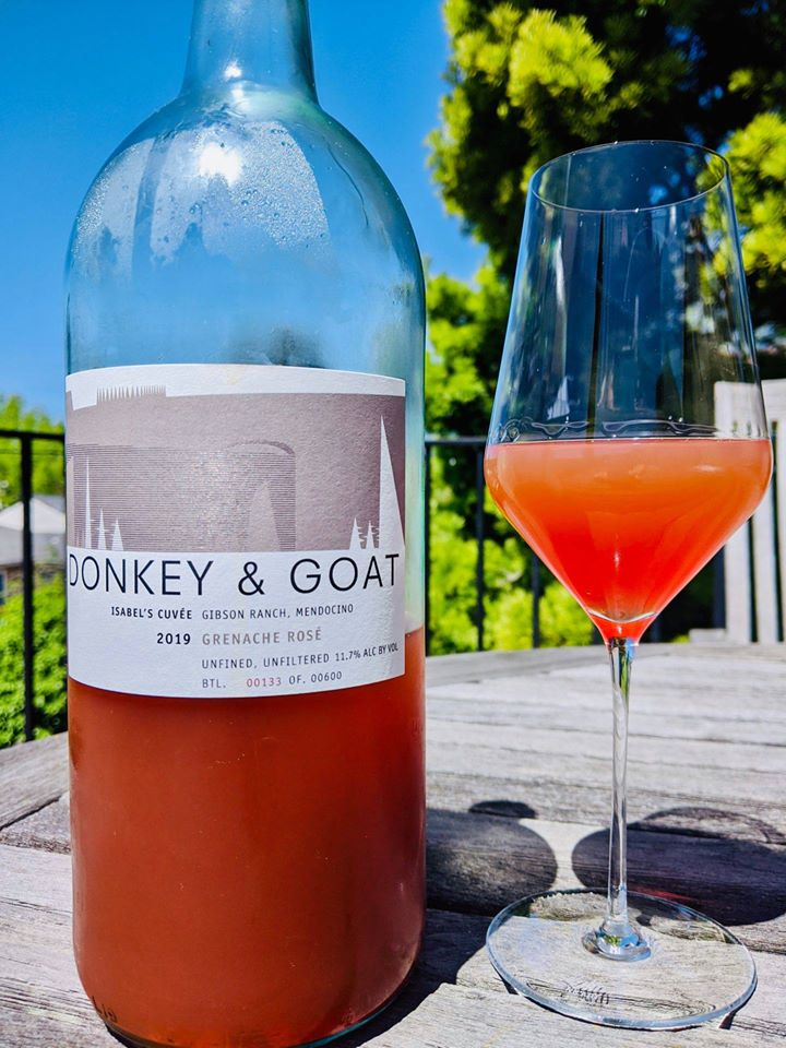 A bottle of wine from Donkey & Goat in Berkeley. Photo: Donkey and & Goat