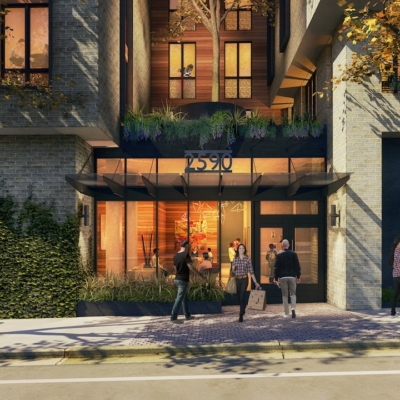 A rendering of 2590 Bancroft Way