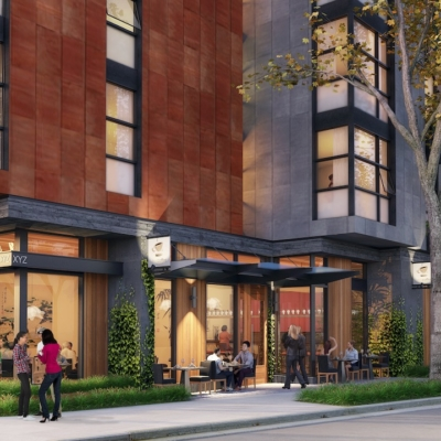 A rendering of 2650 Telegraph Ave., Berkeley. Photo: Trachtenberg Architects