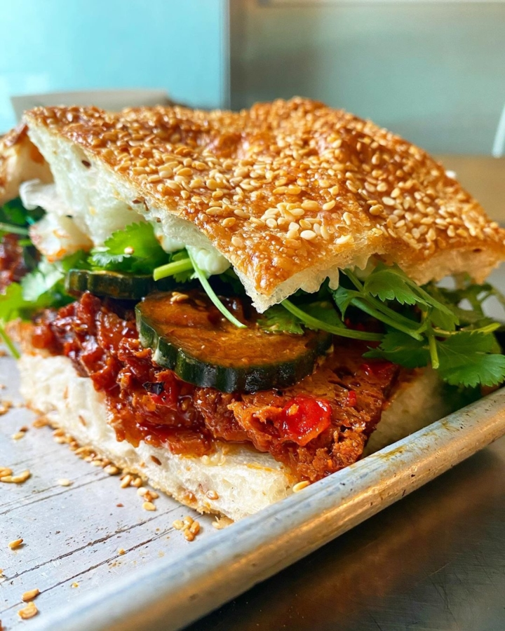 Shaobing #31 sandwich from S+M Vegan.