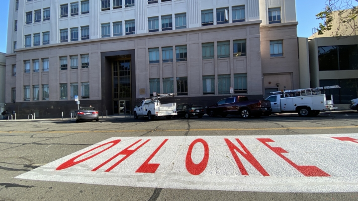"""sign reading """"Ohlone Territory"""""""