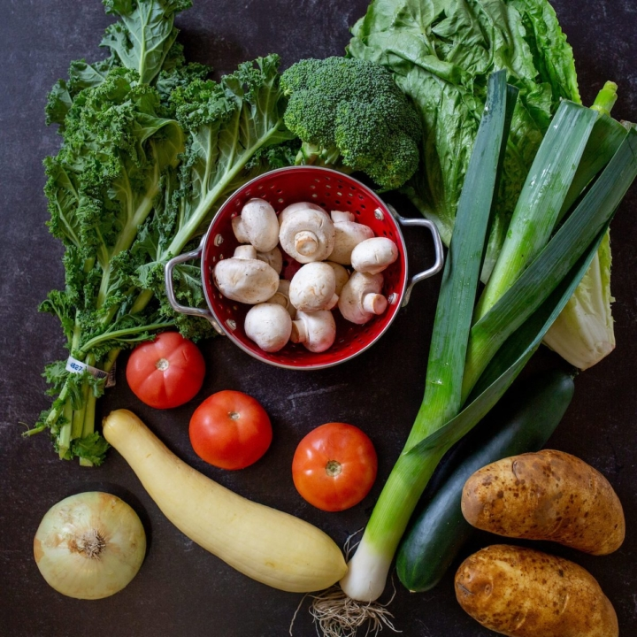 Baskit allows customers to set their own price for a week's worth of common fruits and vegetables. Photo: Baskit