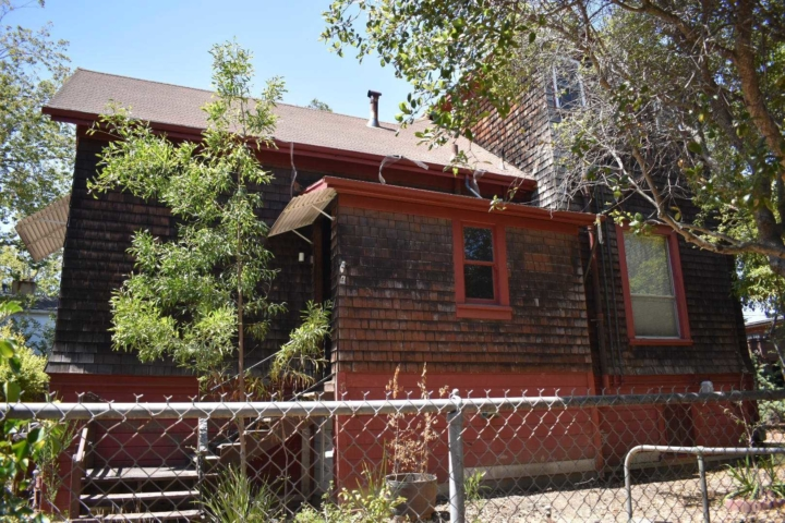 Side view of the Payson House