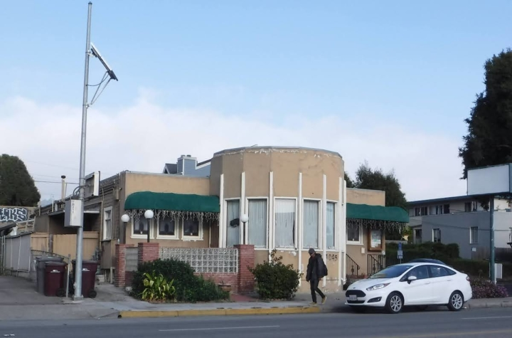 The signage at Potala Organic Cafe, at 1045 San Pablo Ave., has come down.