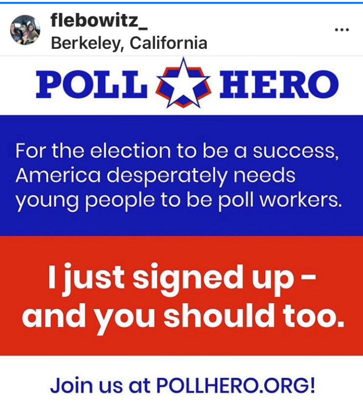call out for poll workers