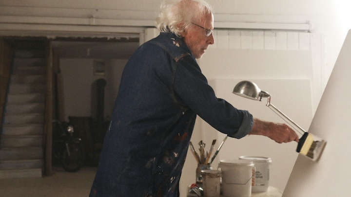 Richard Painting in the movie The Artist's Wife
