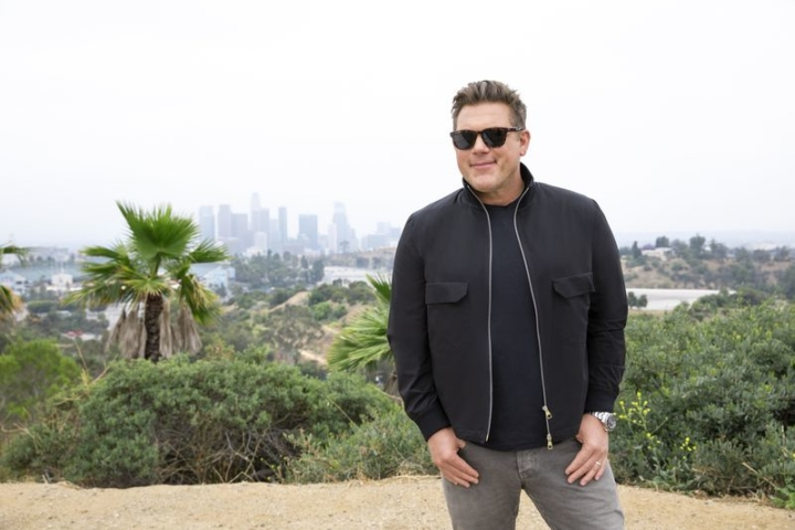 Tyler Florence, host of The Great Food Truck Race. Photo courtesy of The Food Network