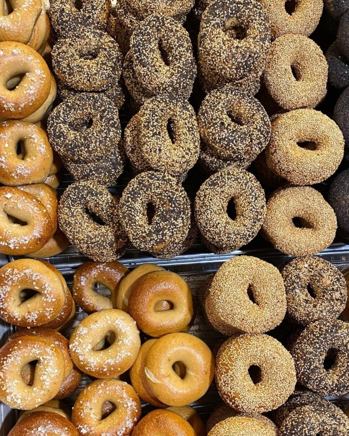 Poppy Bagels will pop-up at Roses' Taproom in Temescal on Oct. 31. Photo: Poppy Bagels