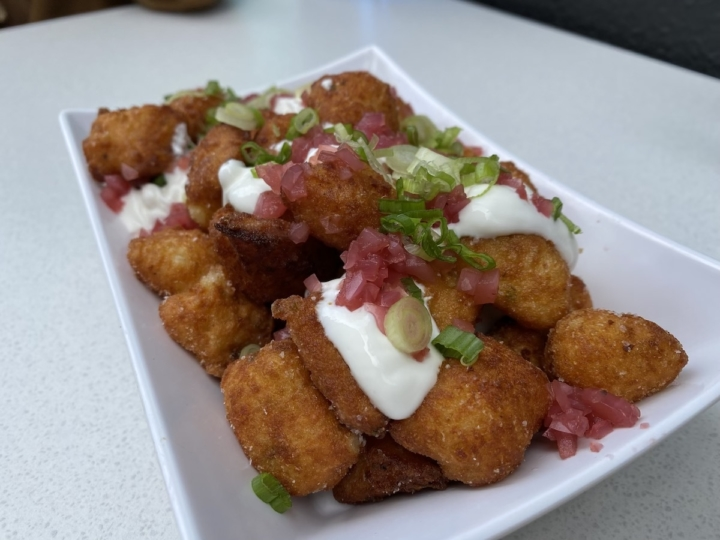 The gnocchi tots at Daughter's Diner in Oakland, one of the East Bay restaurants that opened in October 2020.