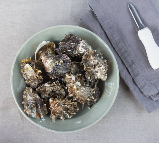 Chez Panisse offers a variety of holiday dishes for takeout, including a dozen unshucked Marin Miyagi oysters with Mignonnette. Photo: Chez Panisse