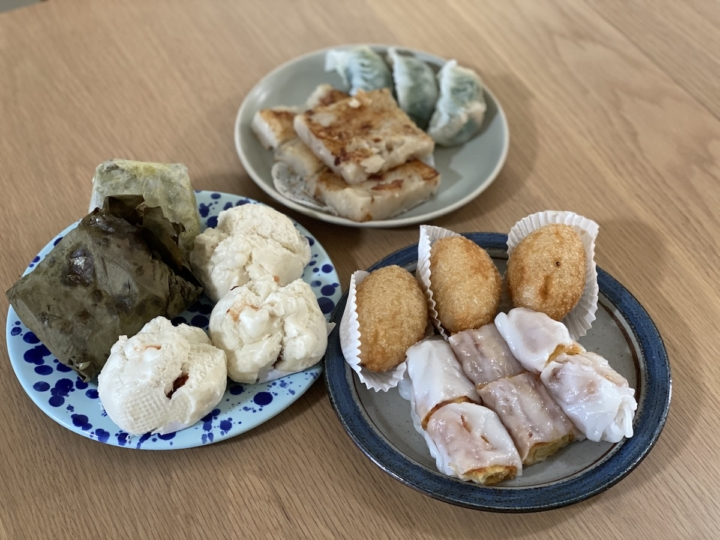 Dim sum from Ming's Tasty in Oakland Chinatown. Photo: Sarah Han