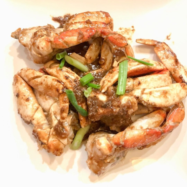 The tamarind crab from Tay Ho in downtown Oakland. Photo: Tay Ho