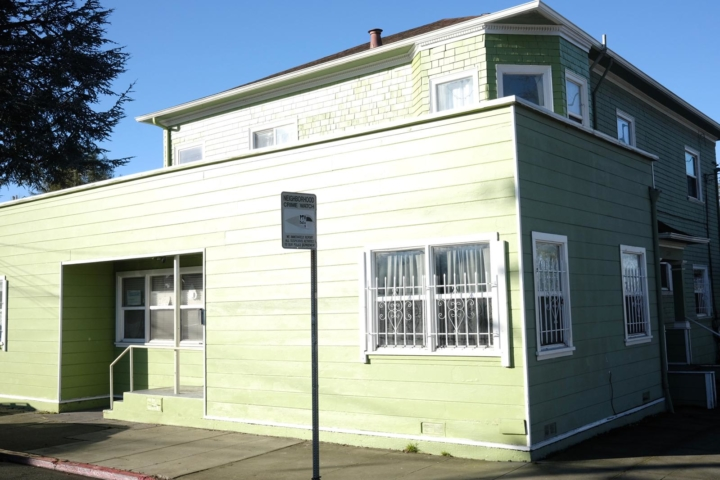 green multifamily home