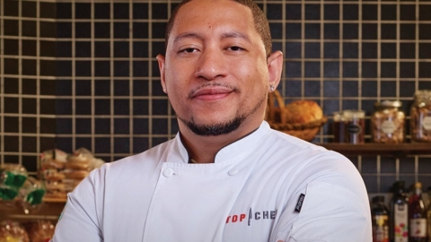 """Nelson German, owner of alaMar Kitchen & Bar and Sobre Mesa, will compete on Season 18 of Bravo's """"Top Chef."""" Photo courtesy of Bravo"""