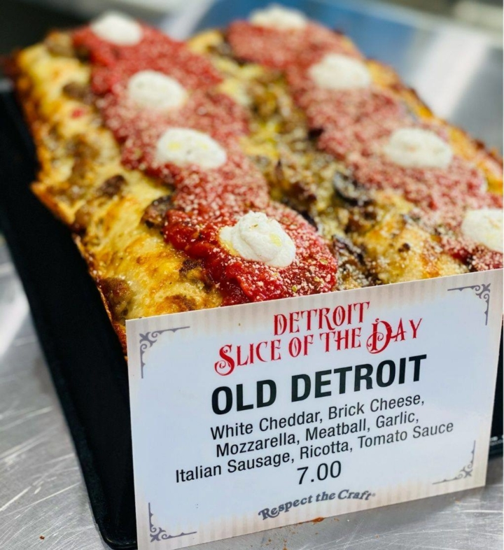 Slice House by Tony Gemignani offers whole pies and a rotating slice of the day menu. Photo: Slice House