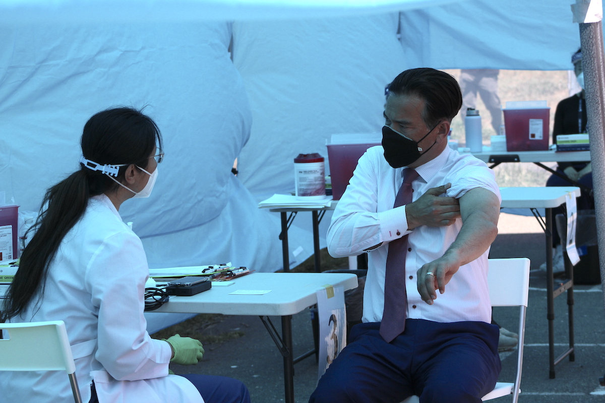 More than one-third of Alameda County adults have been vaccinated