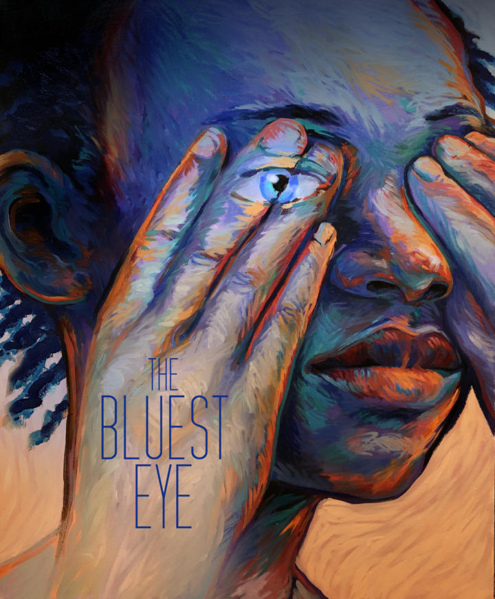 """Poster for Aurora Theatre's audio play """"The Bluest Eye."""""""